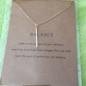 Lovely balance necklace 🥰